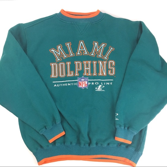 0502c4f4 NFL Shirts | Vintage Miami Dolphins Pro Line Sweatshirt Xl | Poshmark